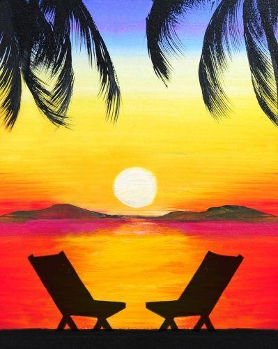 Beach Paintings N004