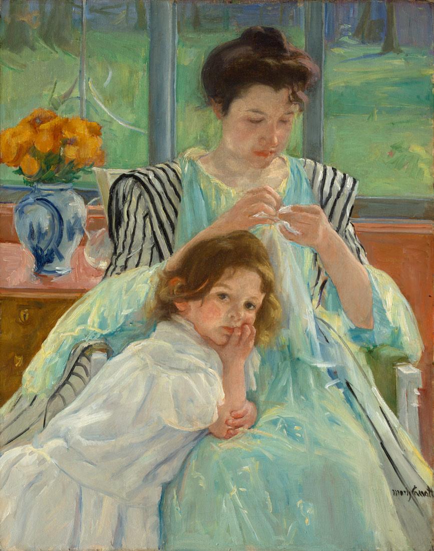 Mary Cassatt Paintings N003