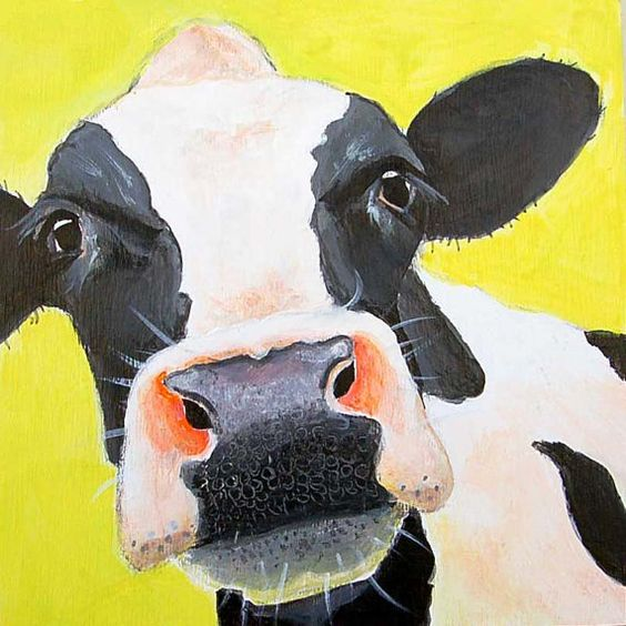 Cow Paintings N003
