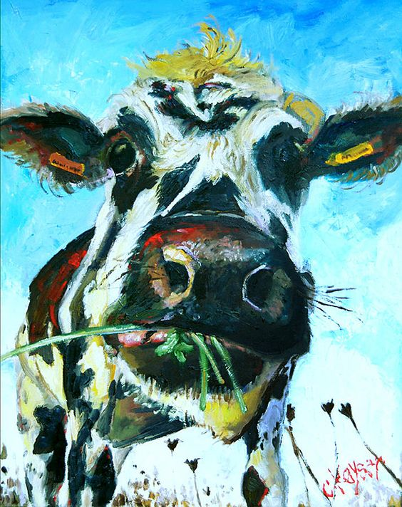 Cow Paintings for Sale