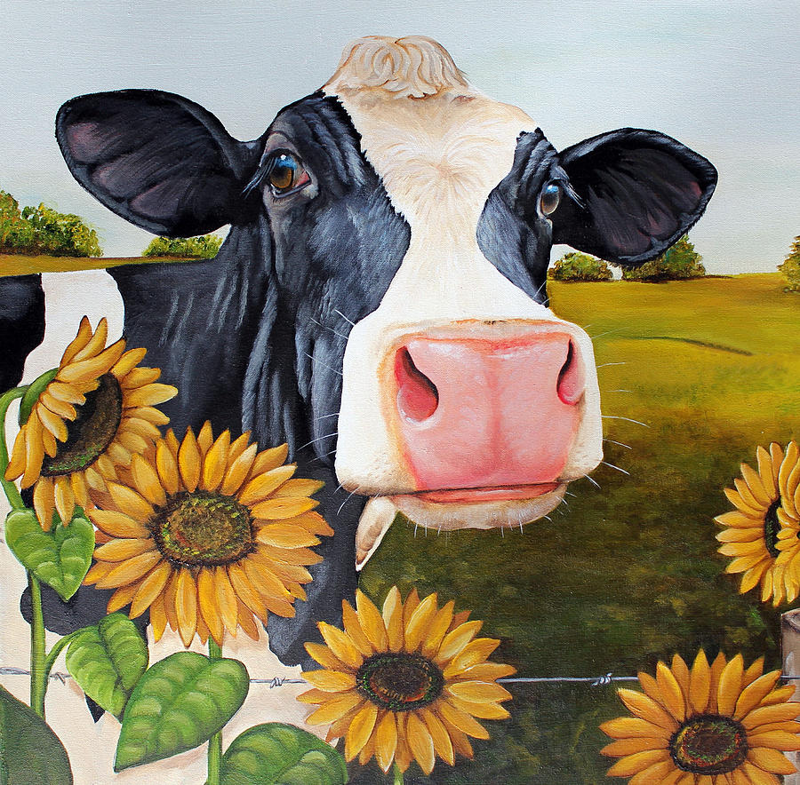 Cow Paintings N004
