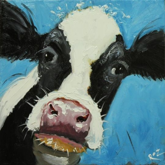 Cow Paintings N005