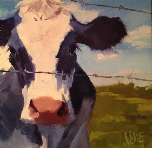 Cow Paintings N006