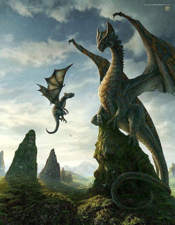 Dragon Paintings N003