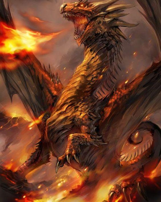 Dragon Paintings N004