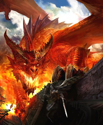 Dragon Paintings N006