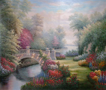 Thomas Garden Paintings for Wholesale