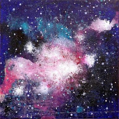 Galaxy Paintings N003