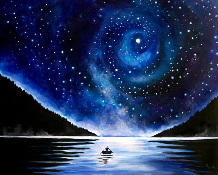 Galaxy Paintings N006
