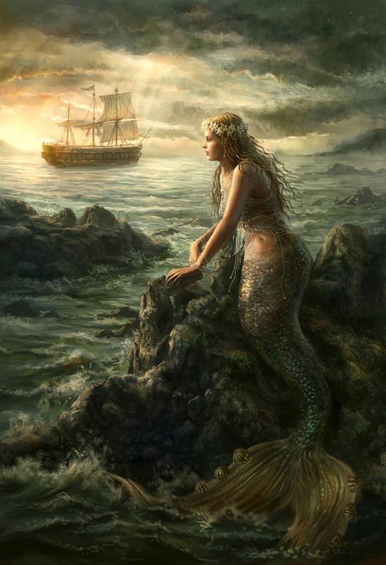 Mermaid Paintings N002