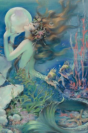 Mermaid Paintings N001