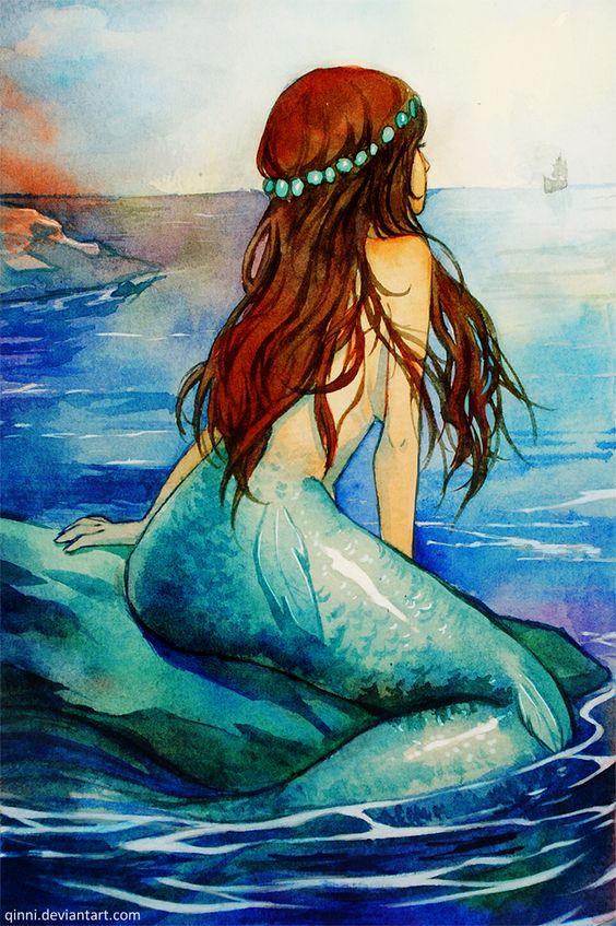 Mermaid Paintings N004