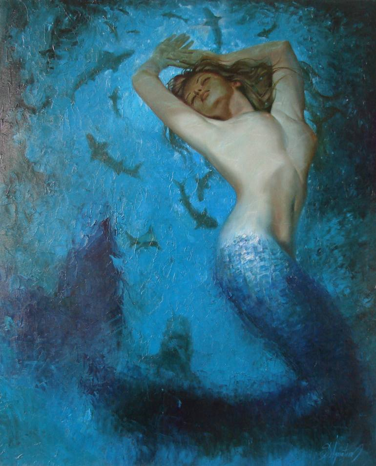 Mermaid Paintings N005