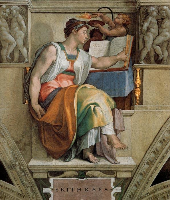 Michelangelo Paintings N003