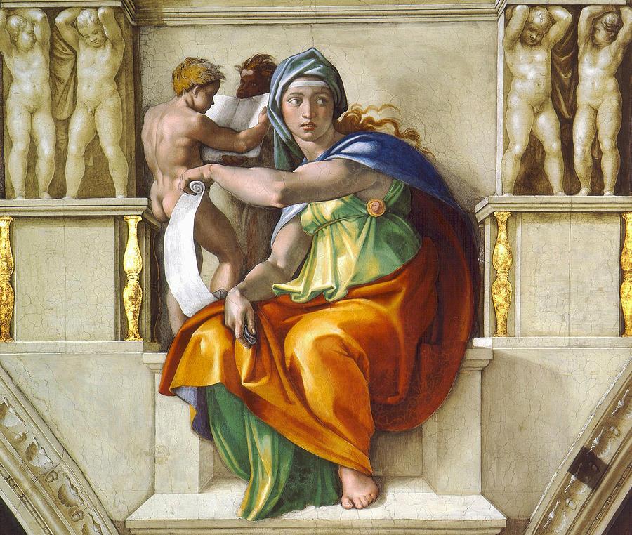 Michelangelo Paintings N004