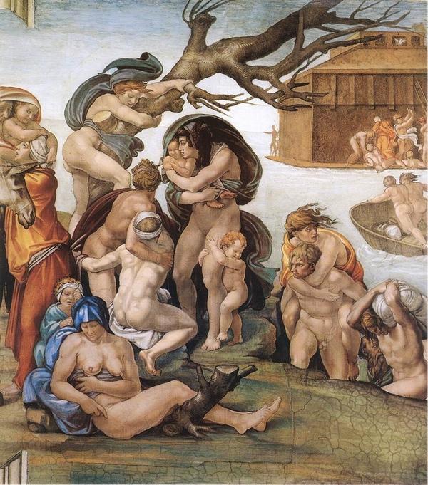 Michelangelo Paintings N006