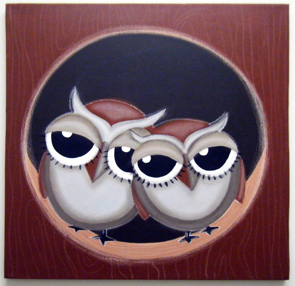 Owl Paintings For Sale