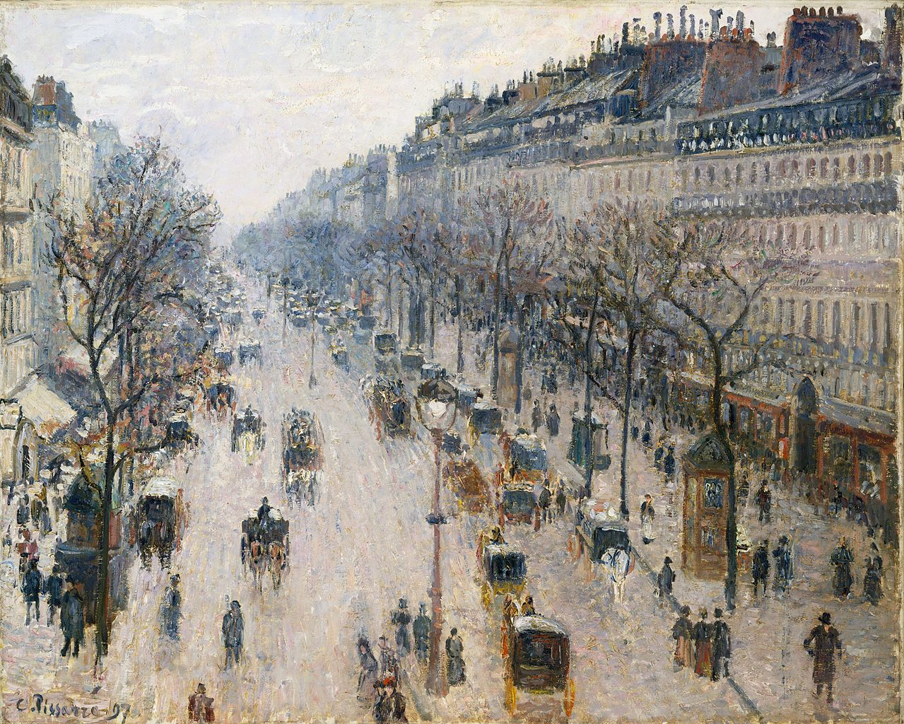 Camille Pissarro Paintings N004