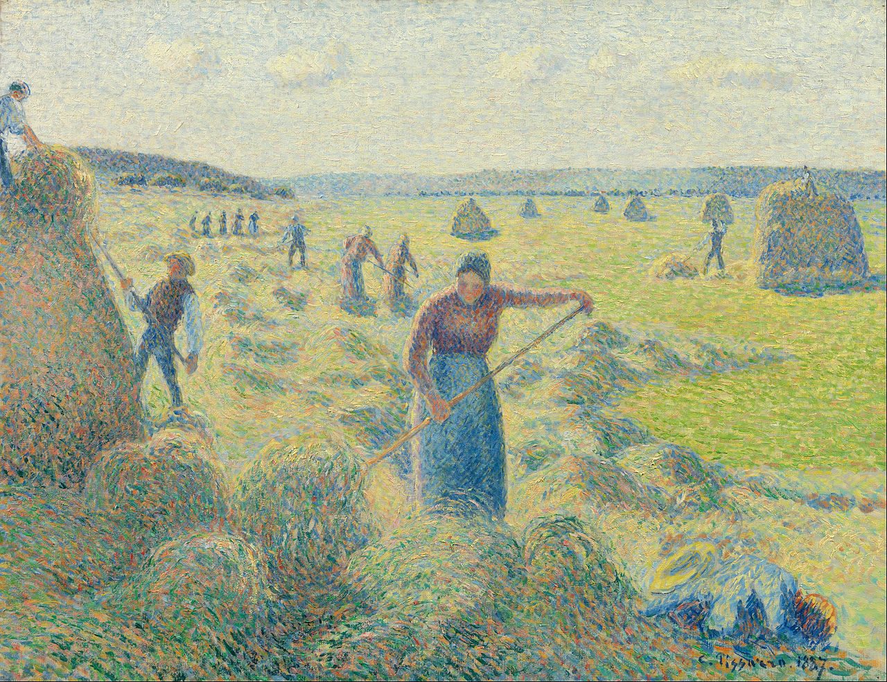 Camille Pissarro Paintings N005