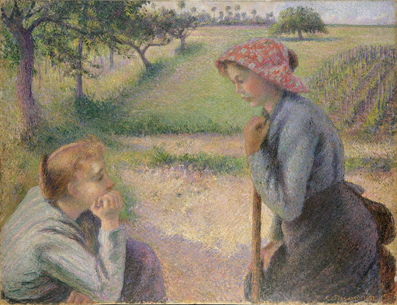 Camille Pissarro Paintings N006