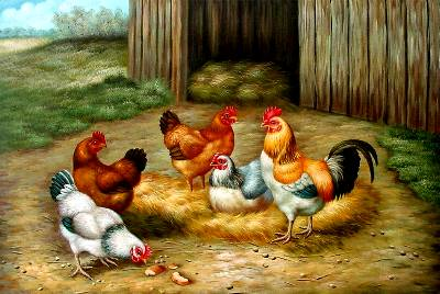 Chook Paintings N005