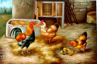 Chook Paintings N003