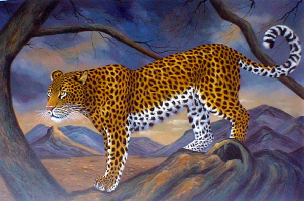 Leopard Paintings for Sale