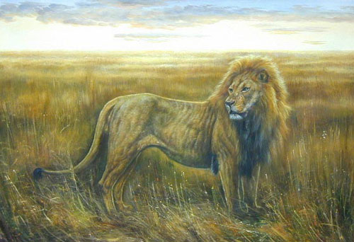 Lion Paintings 02