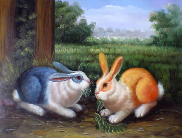 Rabbit Paintings for Sale