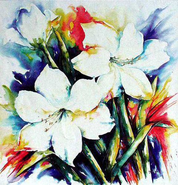 Flower Paintings N004