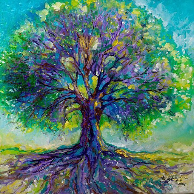 Tree Paintings N001