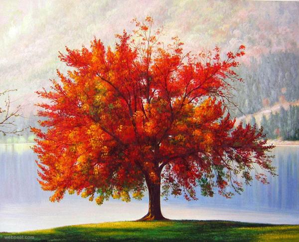 Tree Paintings N003