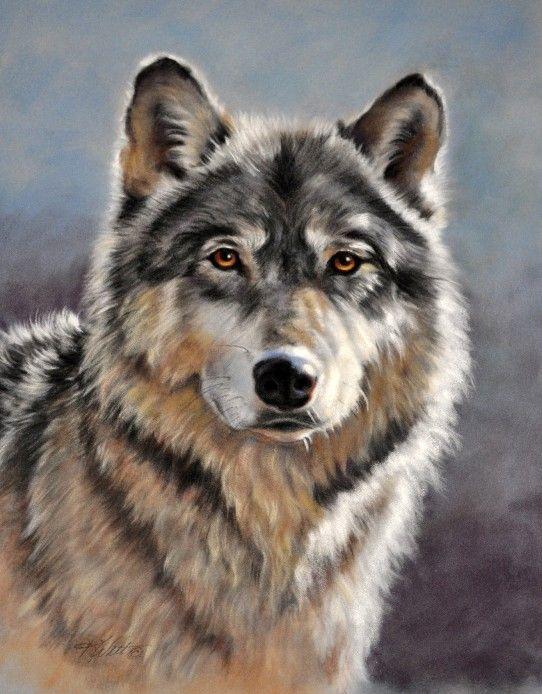 Wolf Paintings N003