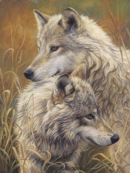 Wolf Paintings N004