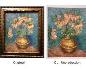 Van Gogh Flower Reproduction