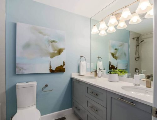Can I Hang A Canvas Painting In The Bathroom?